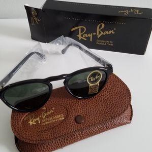 NWT Ray-Ban B & L Gatsby Black Sunglasses